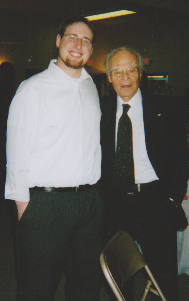 Bernie Shapiro and me